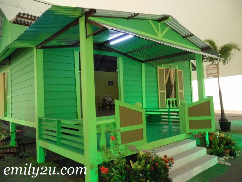 Opah's kampong house
