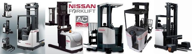 Bình acqui xe nâng nâng điện Nissan