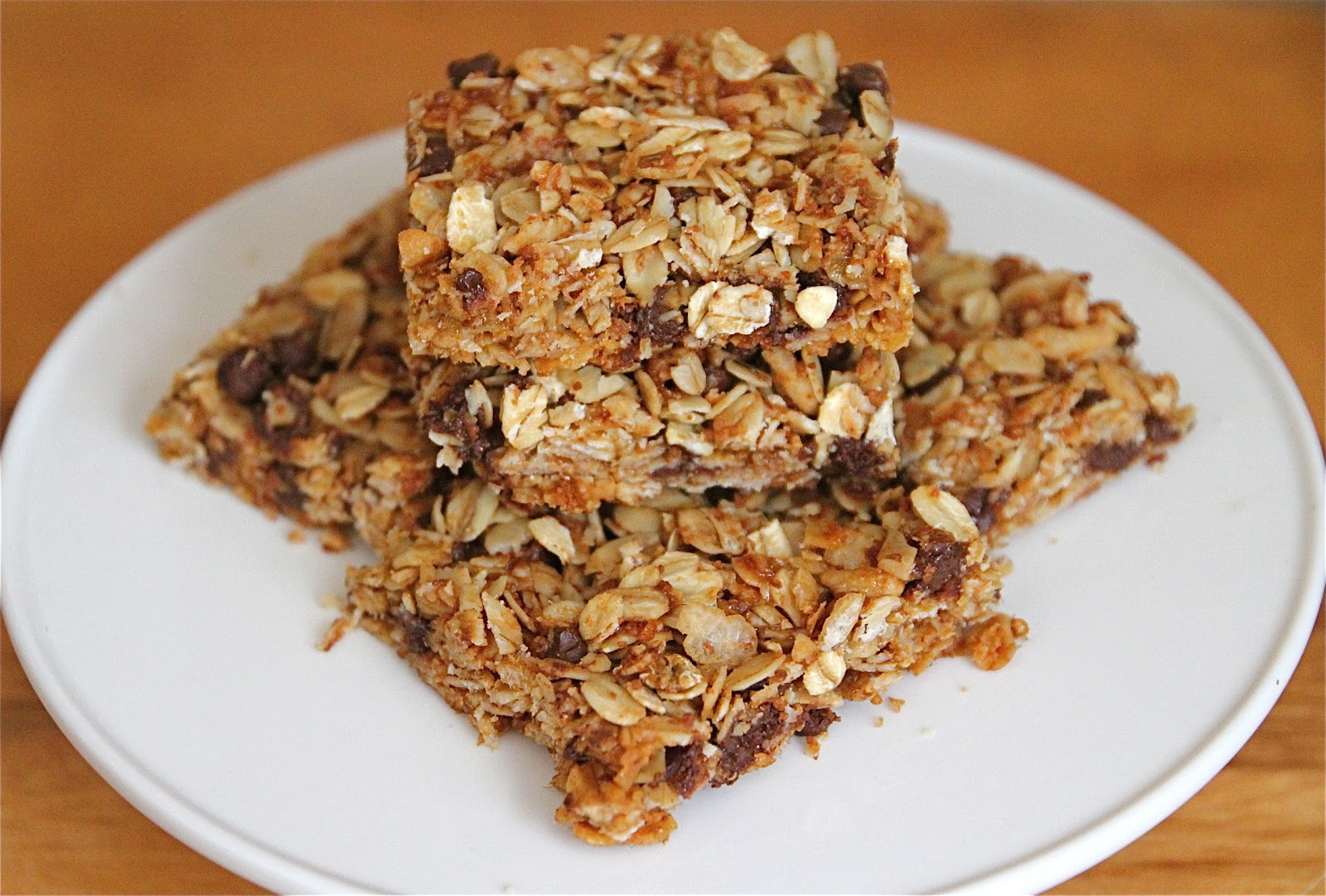 Gluten-Free Chewy Chocolate Chip Granola Bars