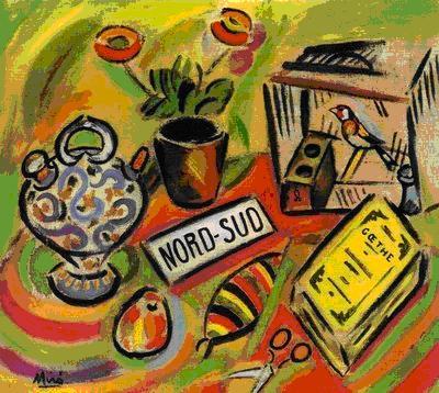 Resultado de imagen de Joan Miró, Nord sud, mirador