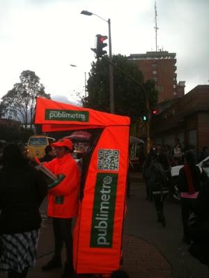QR Code en Bogota