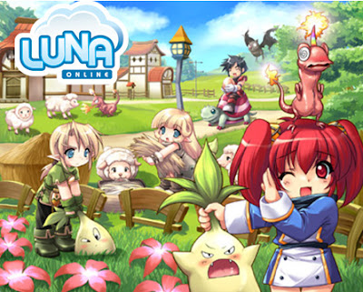 Luna Plus Online Rol Game (anime kawaii style)