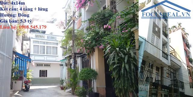 nhà bán hẻm 5m đường Ba Vân Tân Bình 160315