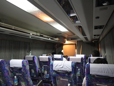 西武観光バス「Lions Express」 1410 車内 その2