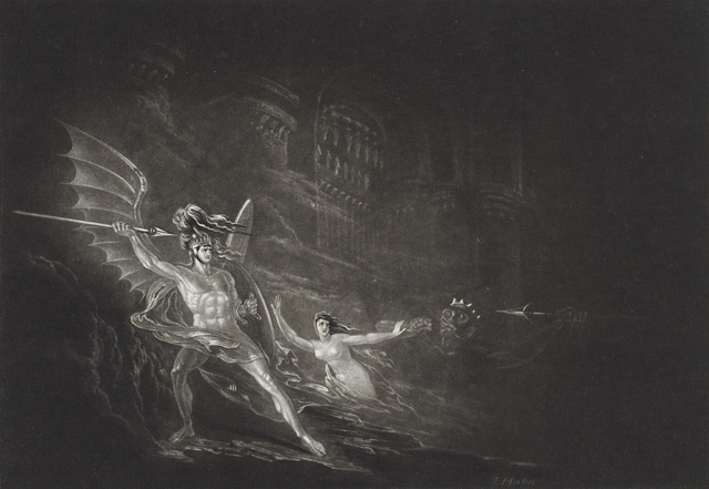 the image of satan in paradise lost by john milton Opposites abound in paradise lost, including heaven and hell, god and satan, and good and evilmilton's uses imagery of light and darkness to express all of these opposites angels are physically described in terms of light, whereas devils are generally described by their shadowy darkness.