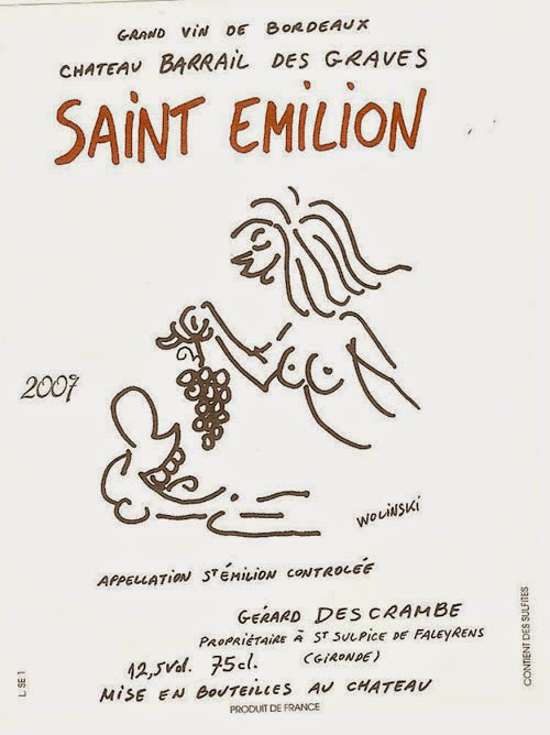 Charlie Hebdo Cartoonists Remembered for Outrageous Wine Labels Designs