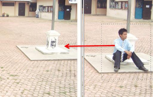 Manipulasi Photoshop sederhana