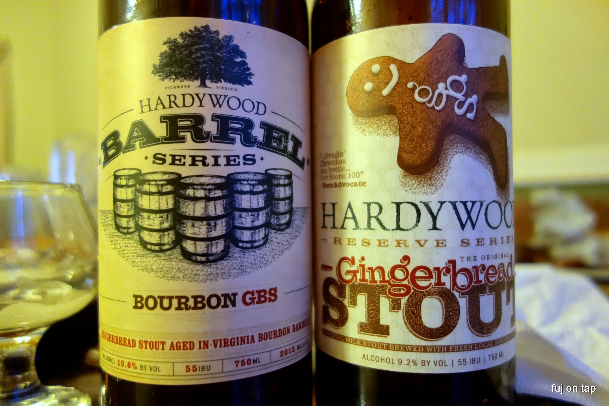Hardywood Bourbon GBS and Gingerbread Stout
