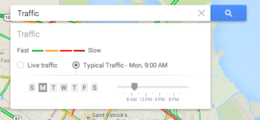 To Learn More About The Traffic Layer And How To Get Typical Traffic For A Specific Time Of Day Please Check Out This Help Center Article