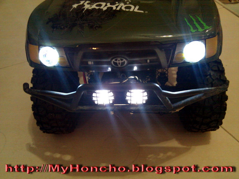 Diy headlights for scx10 honcho tr for Diy tr