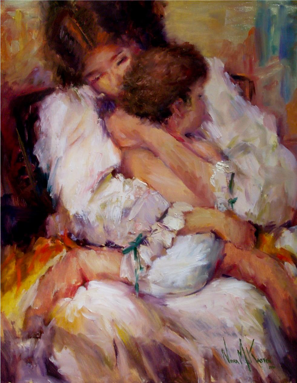 Majke sa decom, ocima slikara - Page 3 _561_Mother_%2526_Child-3