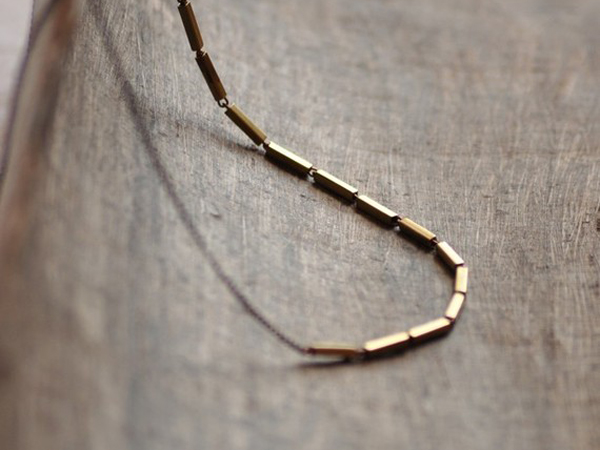 Edor - Kindred brass necklace