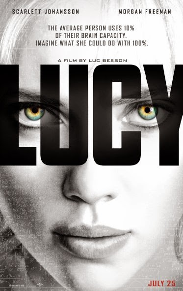 Poster Of English Movie Lucy (2014) Free Download Full New Hollywood Movie Watch Online At Alldownloads4u.Com