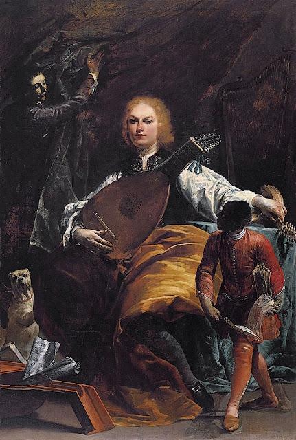 Giuseppe Maria Crespi - Count Fulvio Grati
