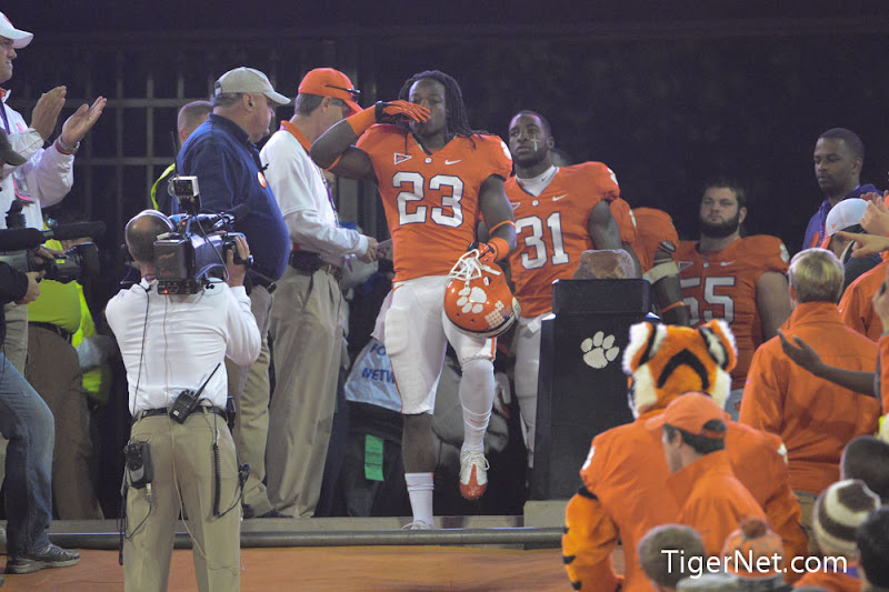 Clemson vs. South Carolina - Seniors on the Hill Photos - 2012, Andre Ellington, Football, Seniors, South Carolina