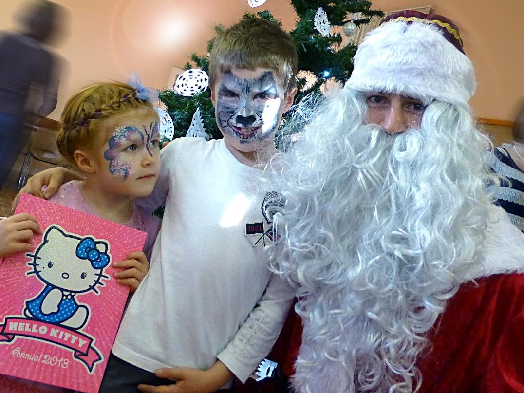 Митя, Бабочка, Санта Клаус