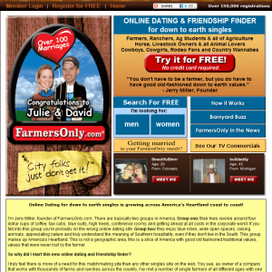 farmers only dating login
