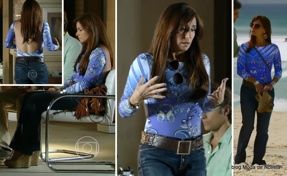 moda da novela Em Família - look da Clara dia 28 de abril