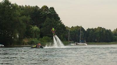Fly board czyli latająca deska nad wodą