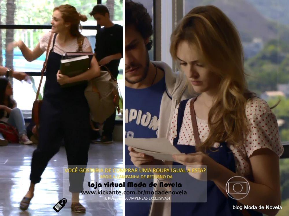 moda da novela Sete Vidas, look da Julia dia 13 de março de 2015