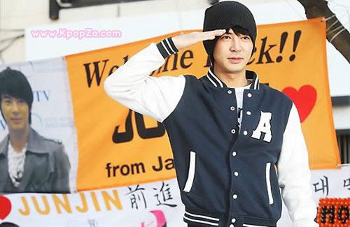 Jun Jin วง Shinhwa  ปลดประจำการแล้ว