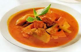 CÀRI NẤU CHAY Vegetarian Curry Végétảien cari