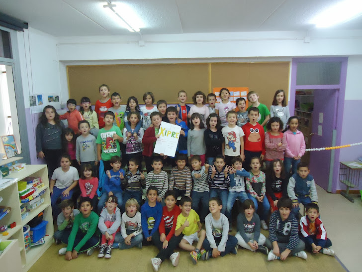 Cicle Inicial i el seu Projecte Comenius