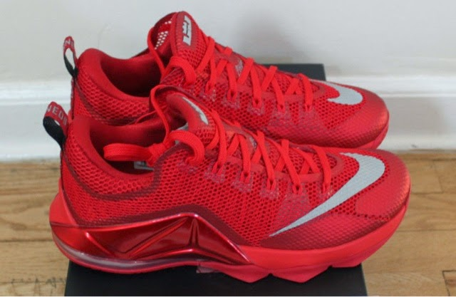 3608c1bcc22b8 Another Nike LeBron 12 Low model hit the surface recently in a small quiet  drop at select Footlocker locations. The pair features a university red   gym red ...