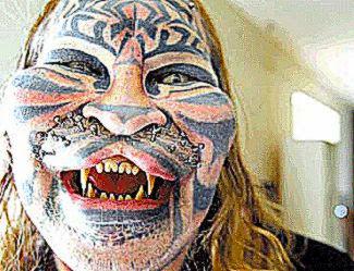 Kayala Tribal Body Modifications