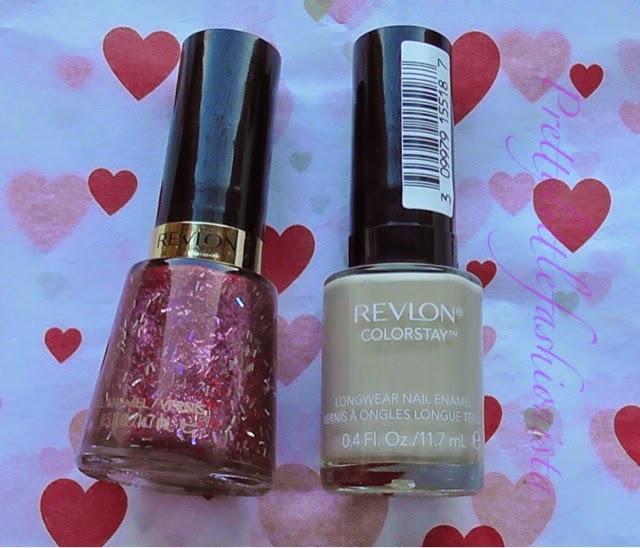 Revlon Bare Bones and Ruby Ribbon