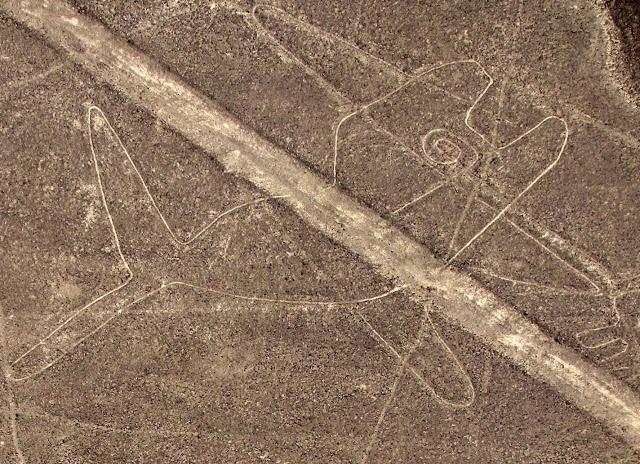 Las líneas de Nazca - La ballena - HistoriadelasCivilizaciones.com