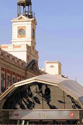 Celebración de Fin de Año en la Puerta del Sol