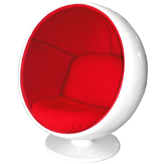 A chair that fits just right pawsh magazine Egg pod ball chair