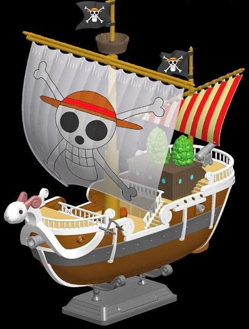 Hình ảnh sinh động của Chiến thuyền One Piece Plastic Model Kit: Going Merry