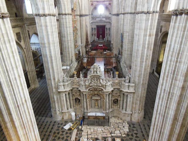 Vistas desde el Triforio de la Catedral Nueva