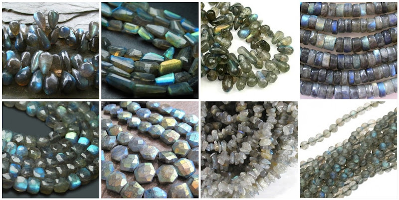 Labradorite Semiprecious Gemstone Beads