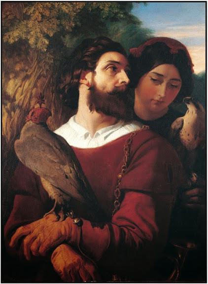 Daniel Maclise - The Falconer 1853