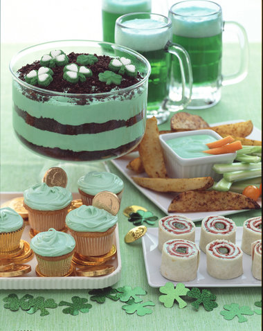Sweet Recipe: Green Pudding Dessert {Happy St. Patty's Day!} ~ Kroma ...