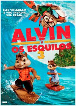 PKSAKOKOS Alvin e os Esquilos 3   DVDRip   Dual Áudio