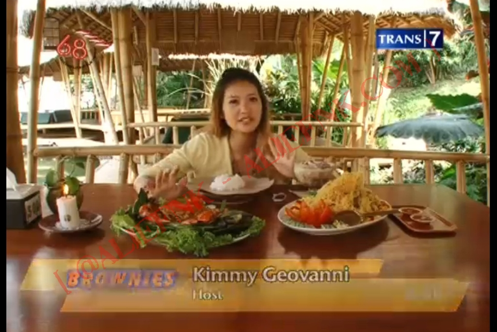 Geovanni Lestari a.k.a Kimmy @ Brownies Trans7 | 2 Agustus 2013 [image by @ALiefNK]