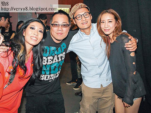 去年九月兩人拉埋彭浩翔睇曲婉婷演唱會,當時他們背住周栢豪約會中,未正式拍拖。