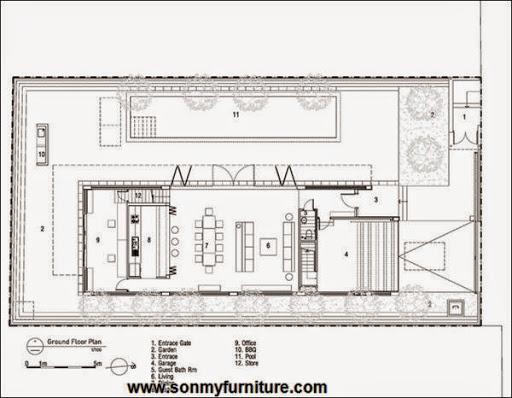 Thiết kế nội thất biệt thư đơn giản và tinh tê_THIET KE NOI THAT-19