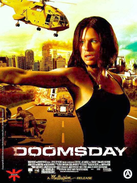 Poster Of Doomsday (2008) Full Movie Hindi Dubbed Free Download Watch Online At Alldownloads4u.Com