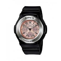 Jam Tangan Wanita Tali Stainless Putih Pink Casio Standard : LTP-E116D-4AV