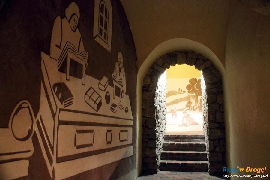 Sandomierz podziemne korytarze pod miastem