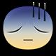 Gloomy Facebook sticker