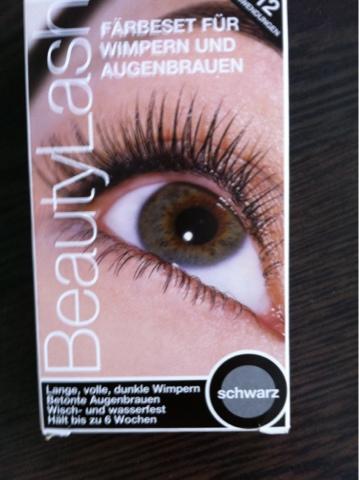 Wimpern färben mit Beauty Lash