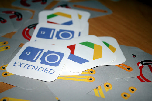 Google IO Extended 2012 stickers