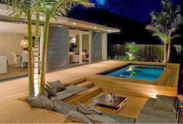 Interiorismo al descubierto instalar una piscina for Piscinas y terrazas ideales