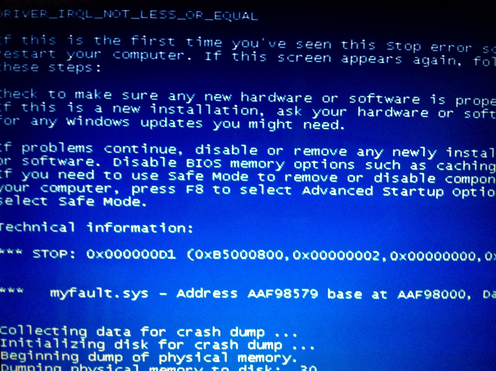 PCRepairNorthShore: Windows Hang and Crash Dump Analysis
